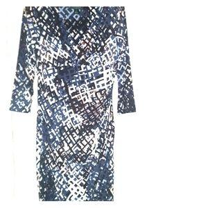 LAUREN Ralph Lauren Size 12 Geometric Dress